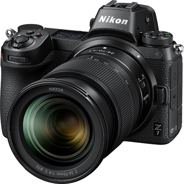 Nikon Z 7 with NIKKOR Z 24-70mm f/4 S