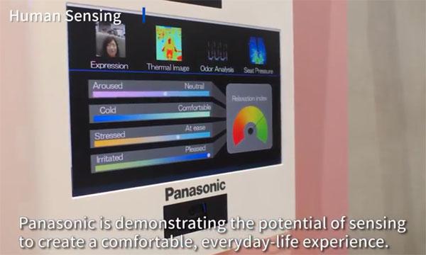 Panasonic: Human sensing (image grab from video above)