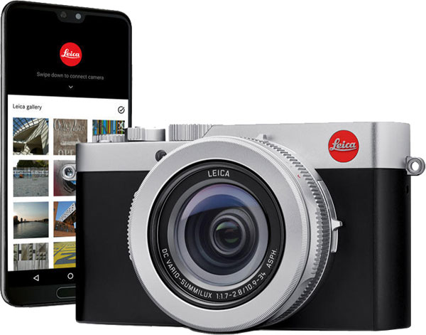 Leica D-Lux 7 with the free Leica FOTOS App