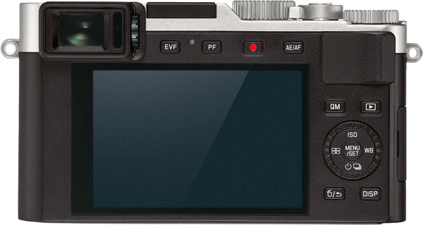 Leica D-Lux 7 Back View