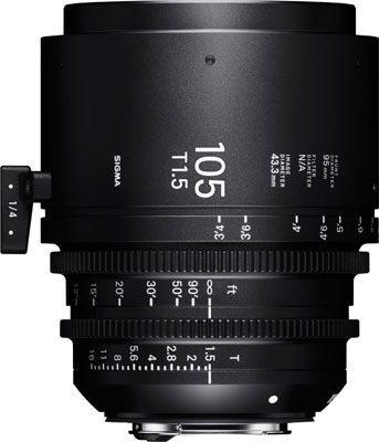 SIGMA 105mm T1.5 FF EF