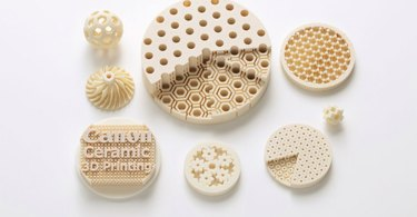 Canon: Ceramic parts created using the new technology