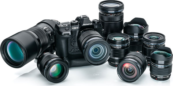 Olympus OM-D E-M1X Camera and Olympus Pro Lenses