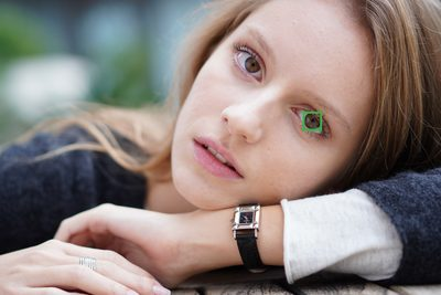 Sony a6400: Enhanced Real-time Eye AF supports portrait shooting: Image Courtesy of Sony