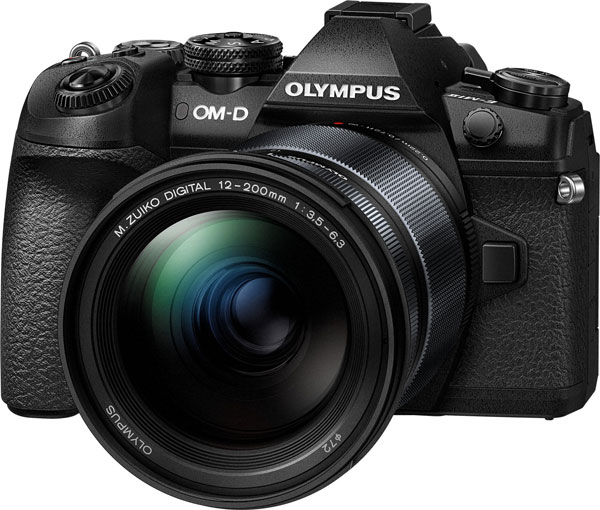 Olympus OM-D E-M1 Mark II Camera with Olympus M.Zuiko Digital ED 12-200mm F3.5-6.3