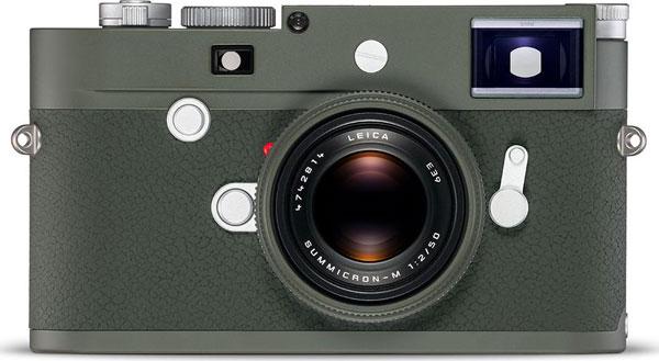 Leica M10-P Edition 'Safari' Camera with Leica Summicron-M 50 mm f/2 Edition 'Safari' Lens
