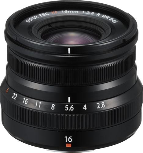 FUJINON XF16mmF2.8 R WR, black