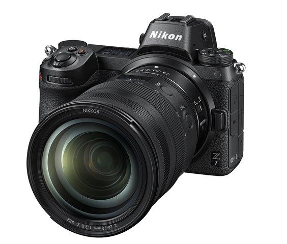 Nikon Z7 with NIKKOR Z 24-70mm f/2.8 S Zoom Lens