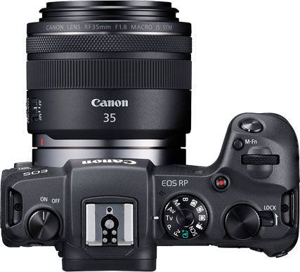 Canon EOS RP with RF 35mm F1.8 Macro IS STM Lens
