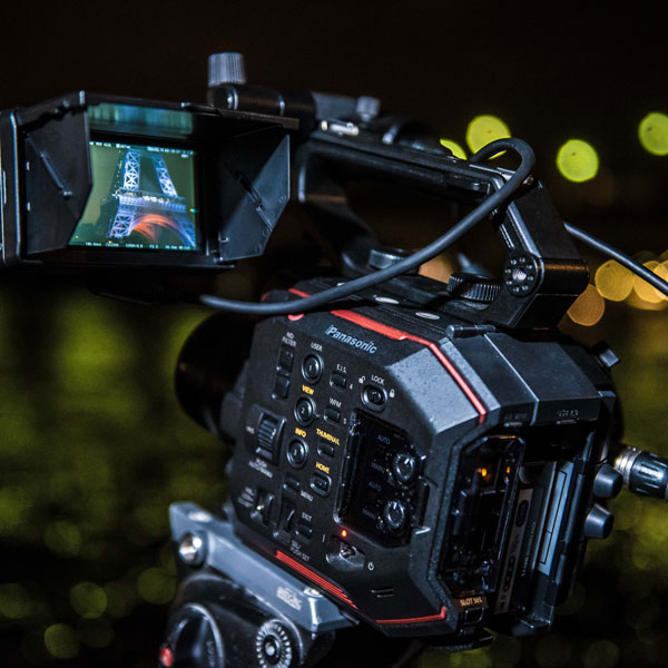 Panasonic AU-EVA1: Photo by Julien Geay