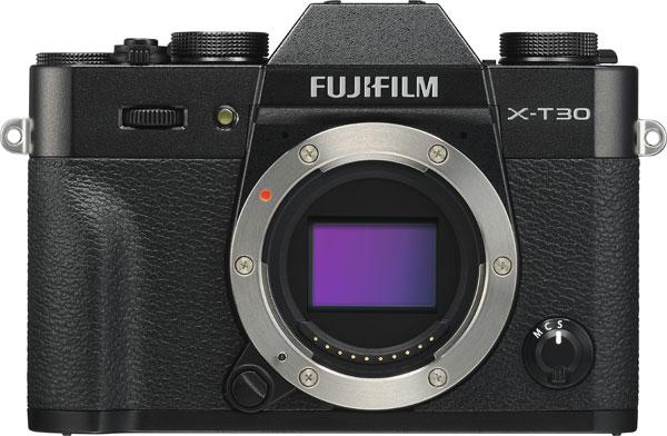 FUJIFILM X-T30, Black