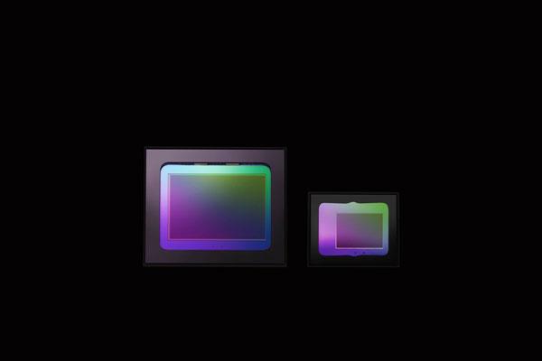RICOH THETA Z1: 1.0-inch back-illuminated CMOS image sensor