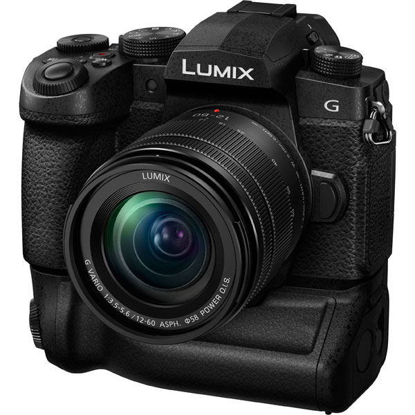Panasonic Lumix G95 with the optional battery grip