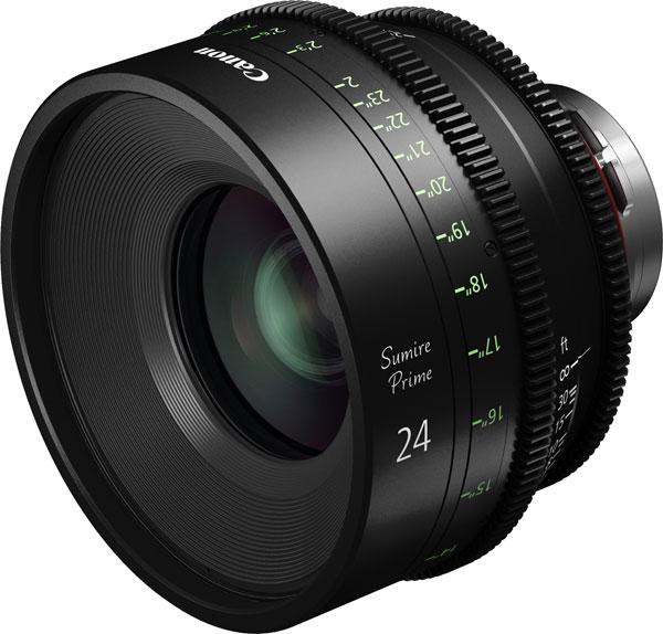 Canon Sumire Prime CN-E24mm T1.5 FP X