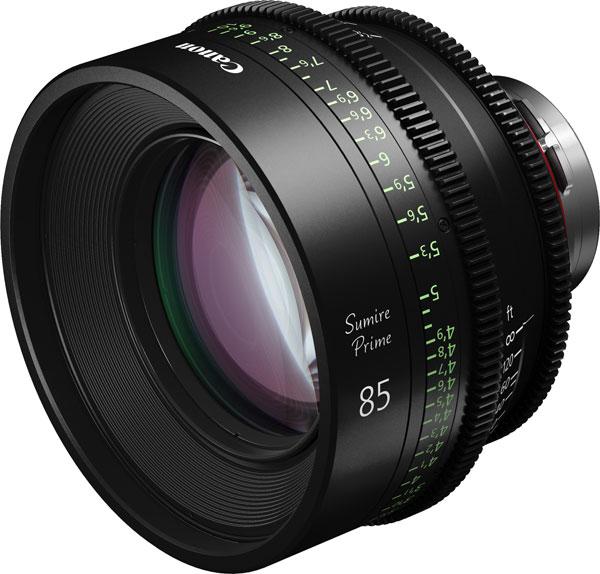 Canon Sumire Prime CN-E85mm T1.3 FP X