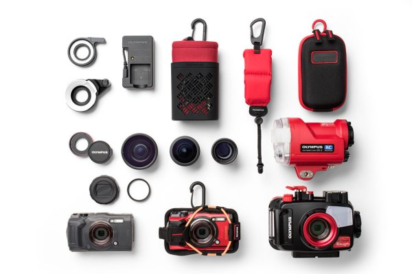 Olympus TOUGH TG-6 (red) with
