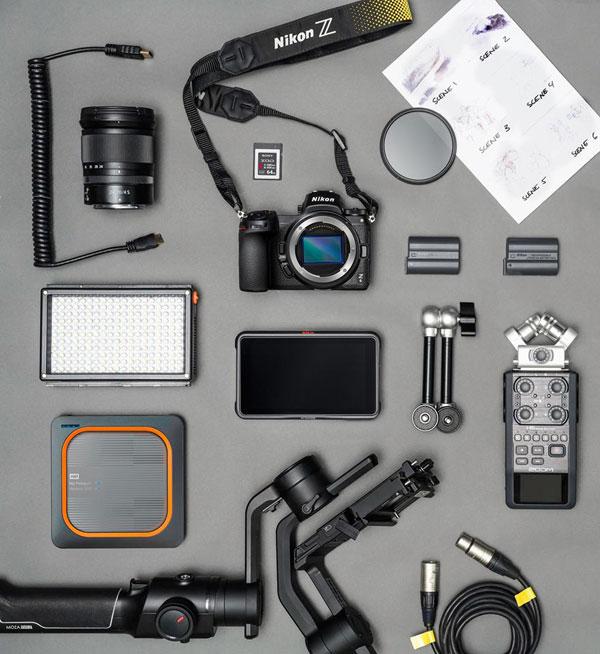 Nikon Z 6 camera and gear: Image Courtesy of Nikon