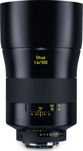 ZEISS Otus 1.4/100 for Nikon F (ZF.2 mount)