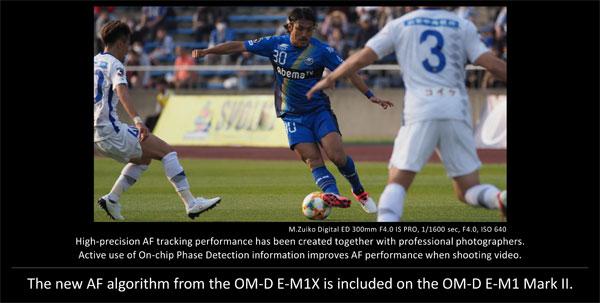 Olympus OM-D E-M1 Mark II firmware Version 3.0: Image Courtesy of Olympus
