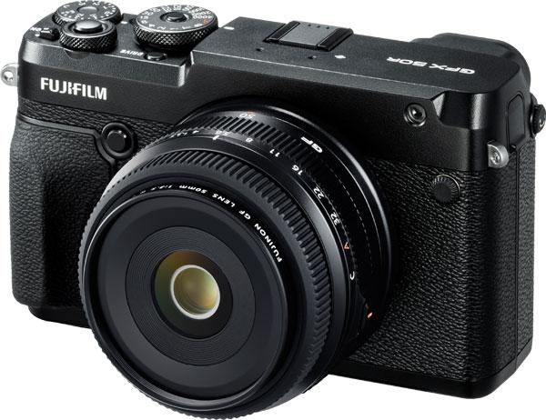 Fujifilm GFX 50R with FUJINON GF50mmF3.5 R LM WR