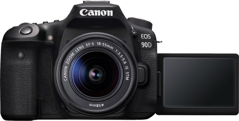 Canon EOS 90D DSLR with EF-S 18-55mm f/3.5-5.6 IS STM lens