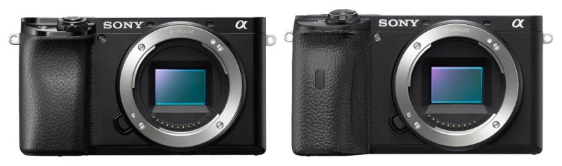 Sony a6100 (left), a6600 (right)