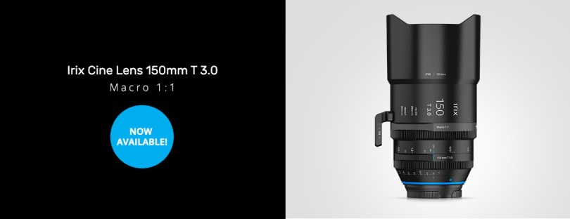 Irix Cine 150mm T3.0 Macro 1:1 for PL Mount Metric