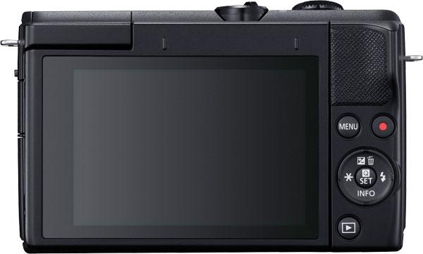 Canon EOS M200 (Black) Back View