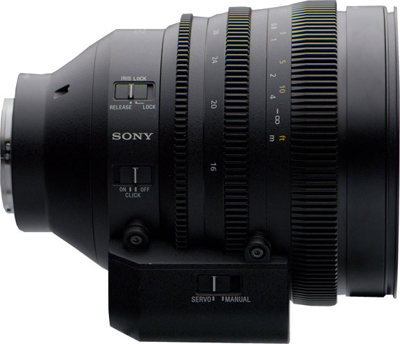 Sony FE C 16-35mm T3.1 G with detachable servo zoom