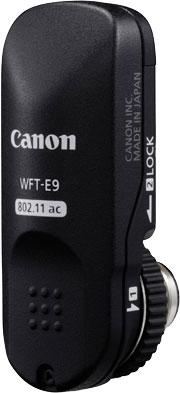 Canon WFT-E9, optional wireless file transmitter