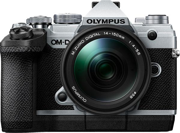 Olympus OM-D E-M5 Mark III, silver (optional Dedicated External Grip ECG-5)