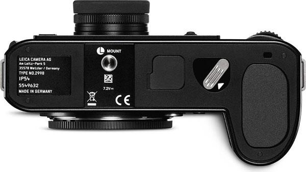 Leica SL2, bottom