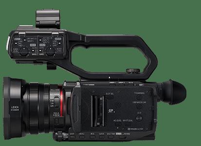 Panasonic AG-CX10: Dual SD Card Slots