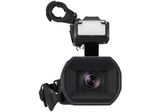 Panasonic Camcorder: LEICA Dicomar Lens with LED Video Light