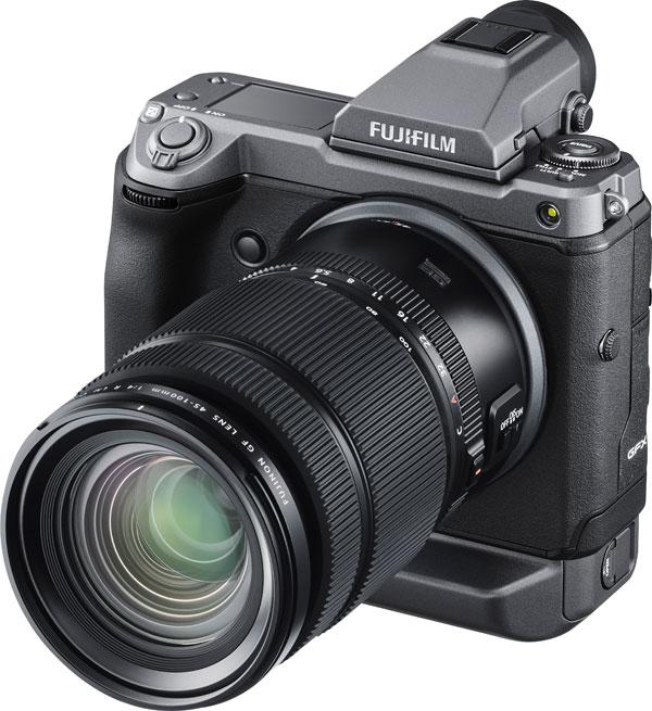 Fujifilm FUJINON GF45-100MMF4 R LM OIS WR with the FUJIFILM GFX100