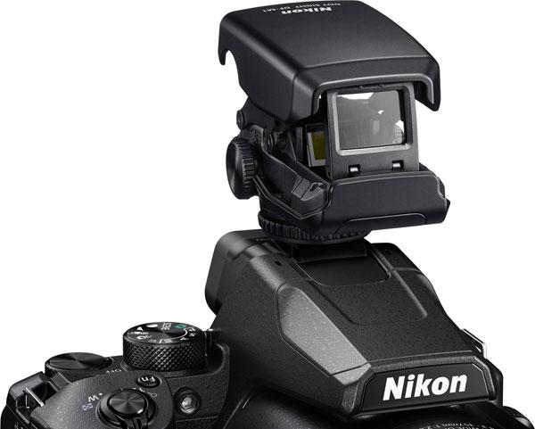 Nikon COOLPIX P950 with the optional DF-M1 Dot Sight