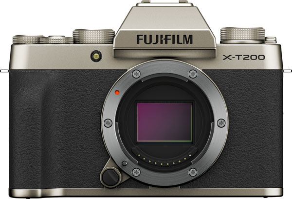 Fujifilm X-T200, Champagne: Body only