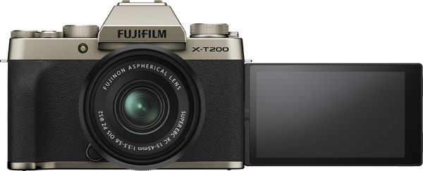 Fujifilm X-T200, Champagne, with XC15-45mm45mmF3.5-5.6 OIS PZ lens