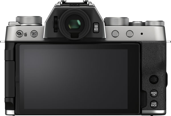Fujifilm X-T200, Silver: LCD open