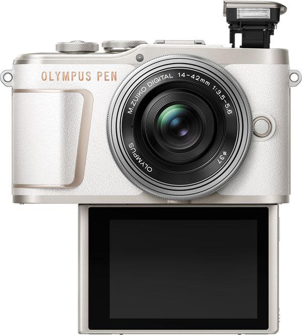 Olympus PEN E-PL10: shiro白 (white)