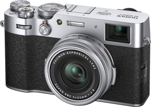 Fujifilm X100V (ton argent)