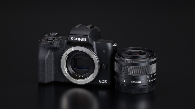 Canon EOS M APS-C Mirrorless camera with EF-M mount