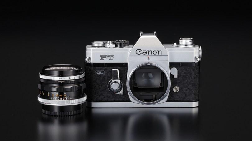 Canon 35mm FTQL SLR with FL mount