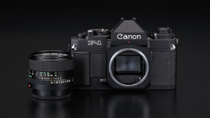 Canon New F-1 35mm SLR with New FD mount