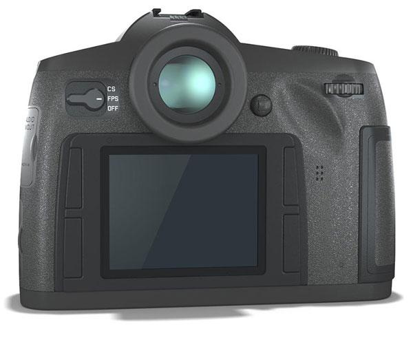 Leica S3 Back View