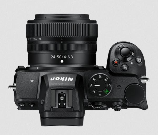 Nikon Z 5 Top View