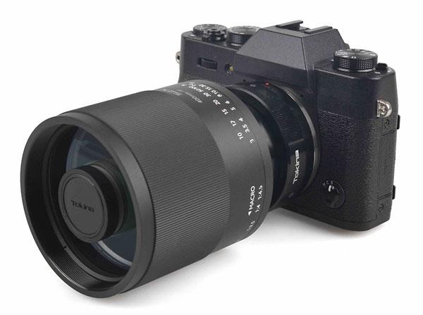Tokina SZX SUPER TELE 400mm F8 Reflex MF with a Fujifilm X adapter