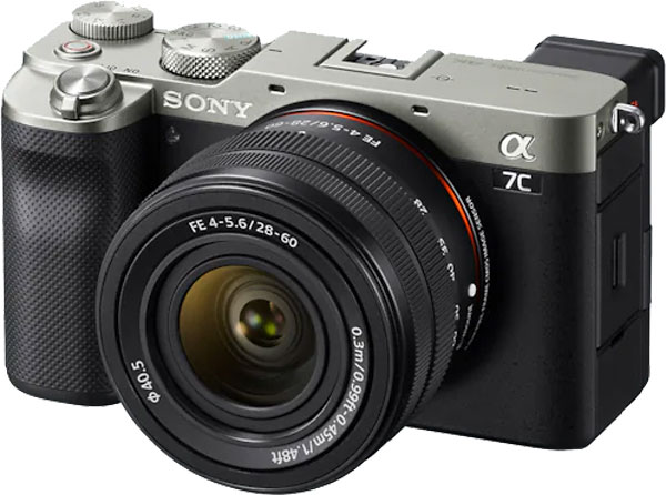 Sony A7c with FE 28-60mm F4-5.6 standard zoom lens