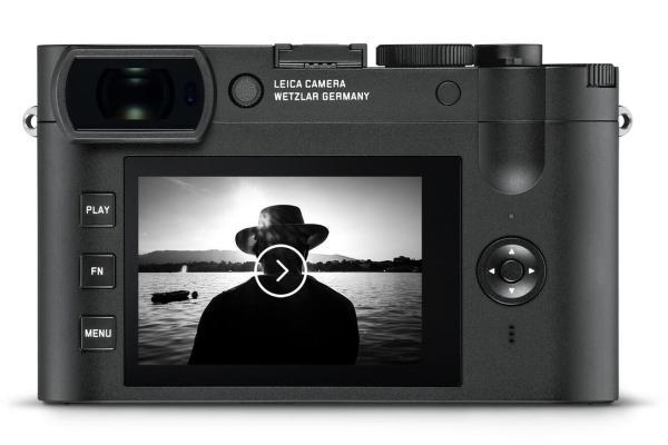 Leica Q2 Monochrom - Back View