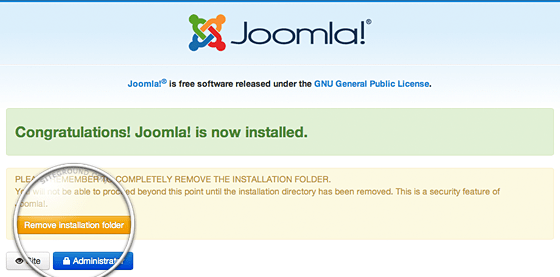 Way to Installing Joomla PHP and ASP